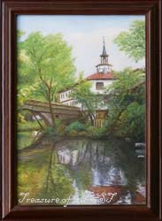 Triavna, oil on canvas, 2001