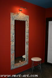 Mirror with ceramic frame – 200/100 - 1200 EUR