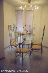 Table and six chairs 3800 EUR